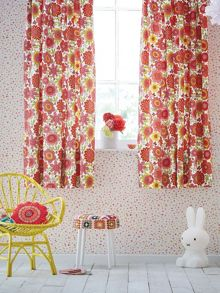 Scion Bloomin lovely lined curtains 66x72in multicolour