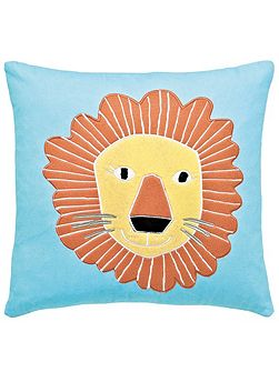 Animal magic lion cushion tooty fruity
