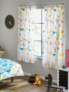 Scion Animal magic curtains 66x72in tooty fruiy
