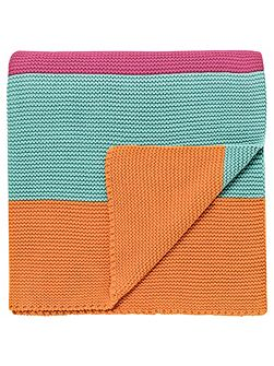 Hello dolly knitted throw 140x170cm