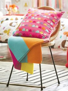 Scion Hello dolly knitted throw 140x170cm