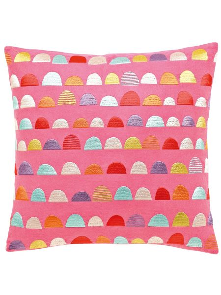 Scion Hello dolly cushion 40x40cm pink