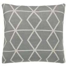 Scion Axis cushion 45x45cm stone