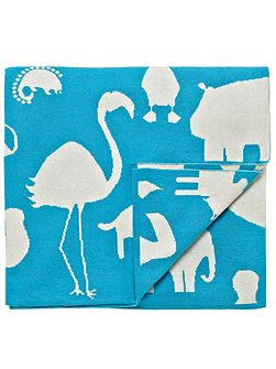 Animal magic throw tooty fruity