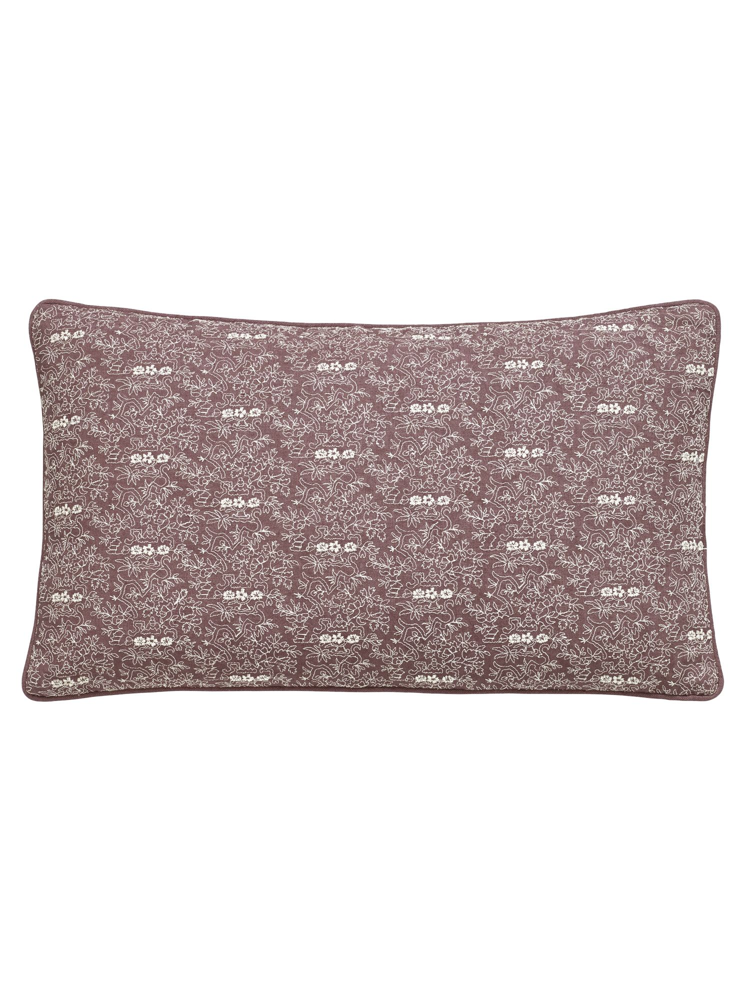 Image of Fable Albizia cushion 50x30cm amethyst