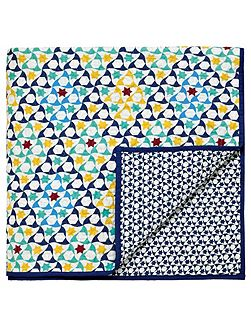 Alhambra throw 230x265cm navy