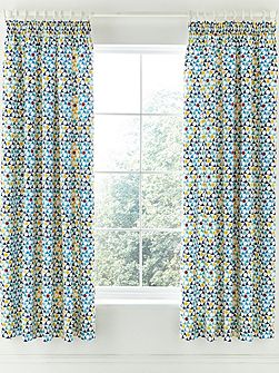Alhambra curtains 66x72in navy