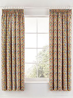 Chicks in the eaves curtains 66x72in multi-colour