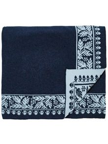 Echo Jaipur knitted throw 140x200cm multi