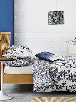Boston Ivy duvet cover indigo