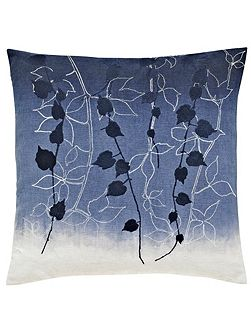 Boston Ivy cushion 40X40cm indigo