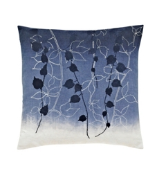 Clarissa Hulse Boston Ivy Cushion Indigo