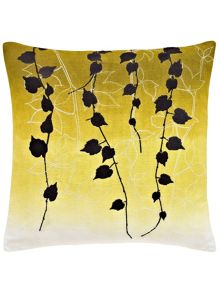 Clarissa Hulse Boston Ivy cushion 40X40cm indigo