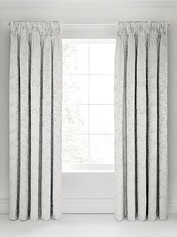 Senna lined curtains 66x72 silver