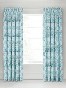 Bedeck 1951 Verona lined curtains 66x72 jade