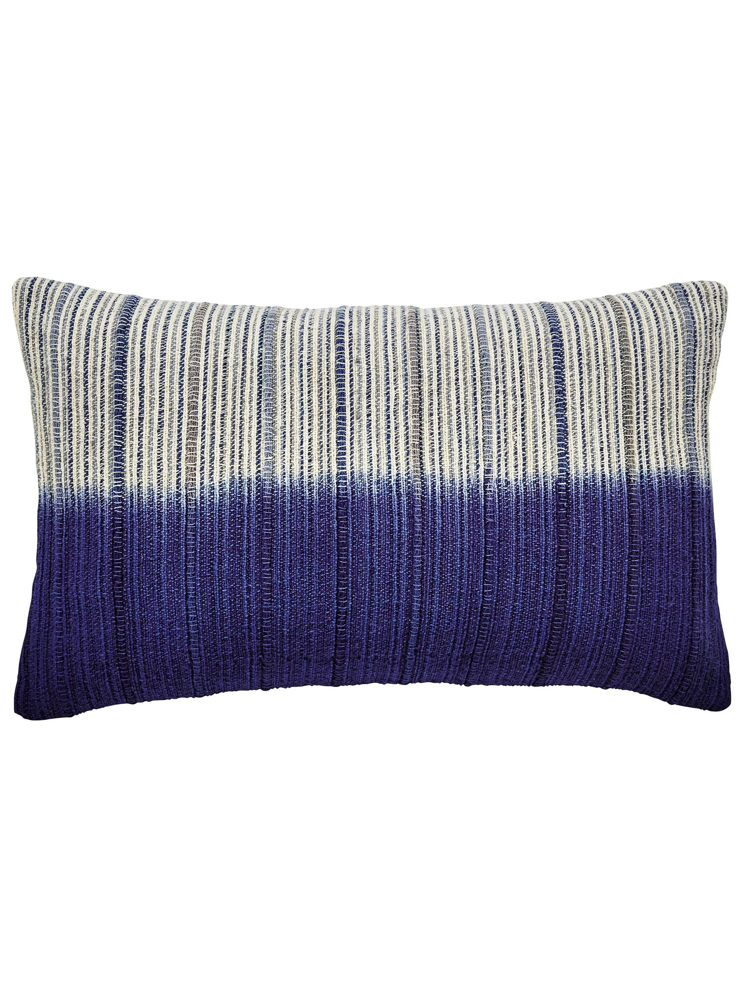 Image of Bedeck 1951 Damara cushion 50x30cm blue