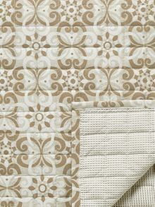 Bedeck 1951 Alie throw 265x260cm taupe