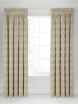 Alie lined curtains 90x90 taupe