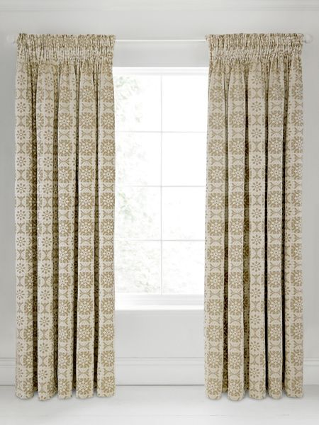 Bedeck 1951 Alie lined curtains 90x90 taupe