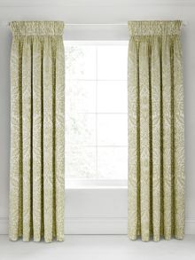 Bedeck 1951 Loya lined curtains 66x72 olive
