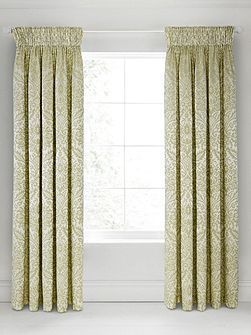 Loya lined curtains 90x90 olive