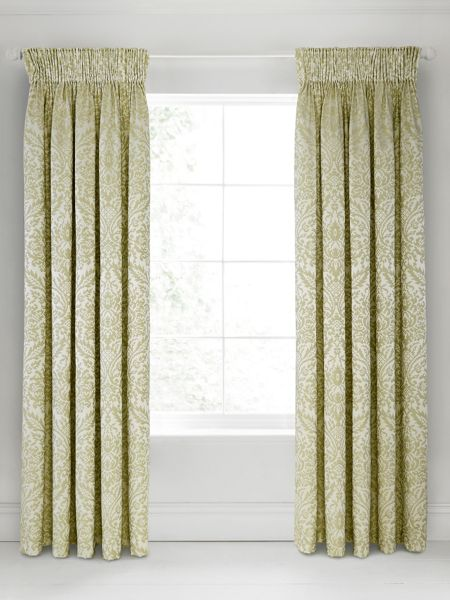 Bedeck 1951 Loya lined curtains 90x90 olive