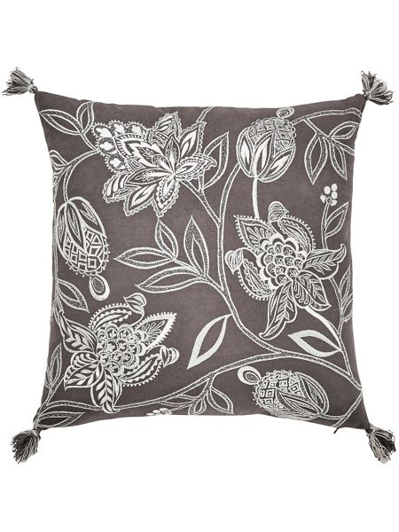 Bedeck 1951 Senna cushion 40x40cm charcoal