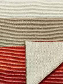 Bedeck 1951 Alie knitted throw 150x200cm coral