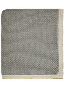 Bedeck 1951 Nala knitted throw 150x200cm natural