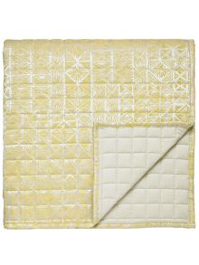 Bedeck 1951 Nala throw 265x260cm gold