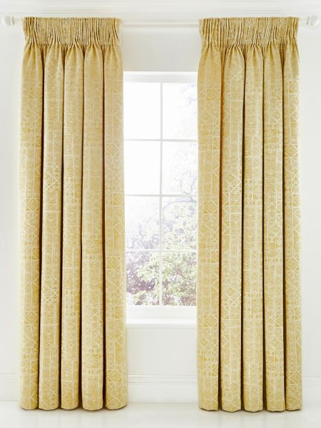 Bedeck 1951 Nala lined curtains 66x72 gold