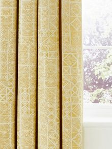 Bedeck 1951 Nala lined curtains 90x90 gold
