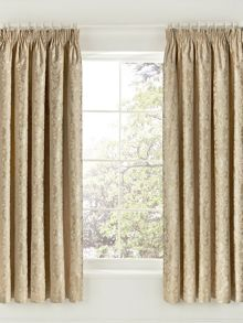 Helena Springfield Flora curtains 66x72 soft gold