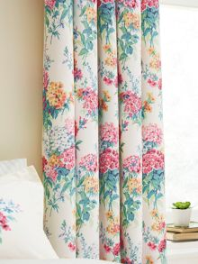 Sanderson Sweets williams lined curtains 66x72 multicolour