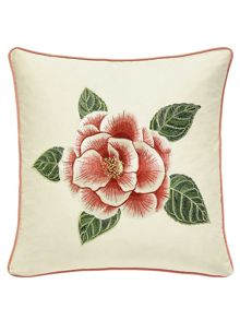 Sanderson Cnristabel cushion 40x40cm Yellow