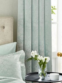 Sanderson Eleanor lined curtains 66x72 aqua