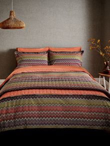 Harlequin Chevron duvet cover set