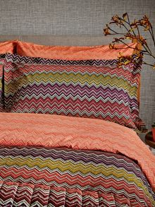 Harlequin Chevron housewife pillowcase pair