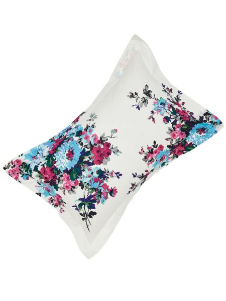 Joules Charlotte floral oxford pillowcase
