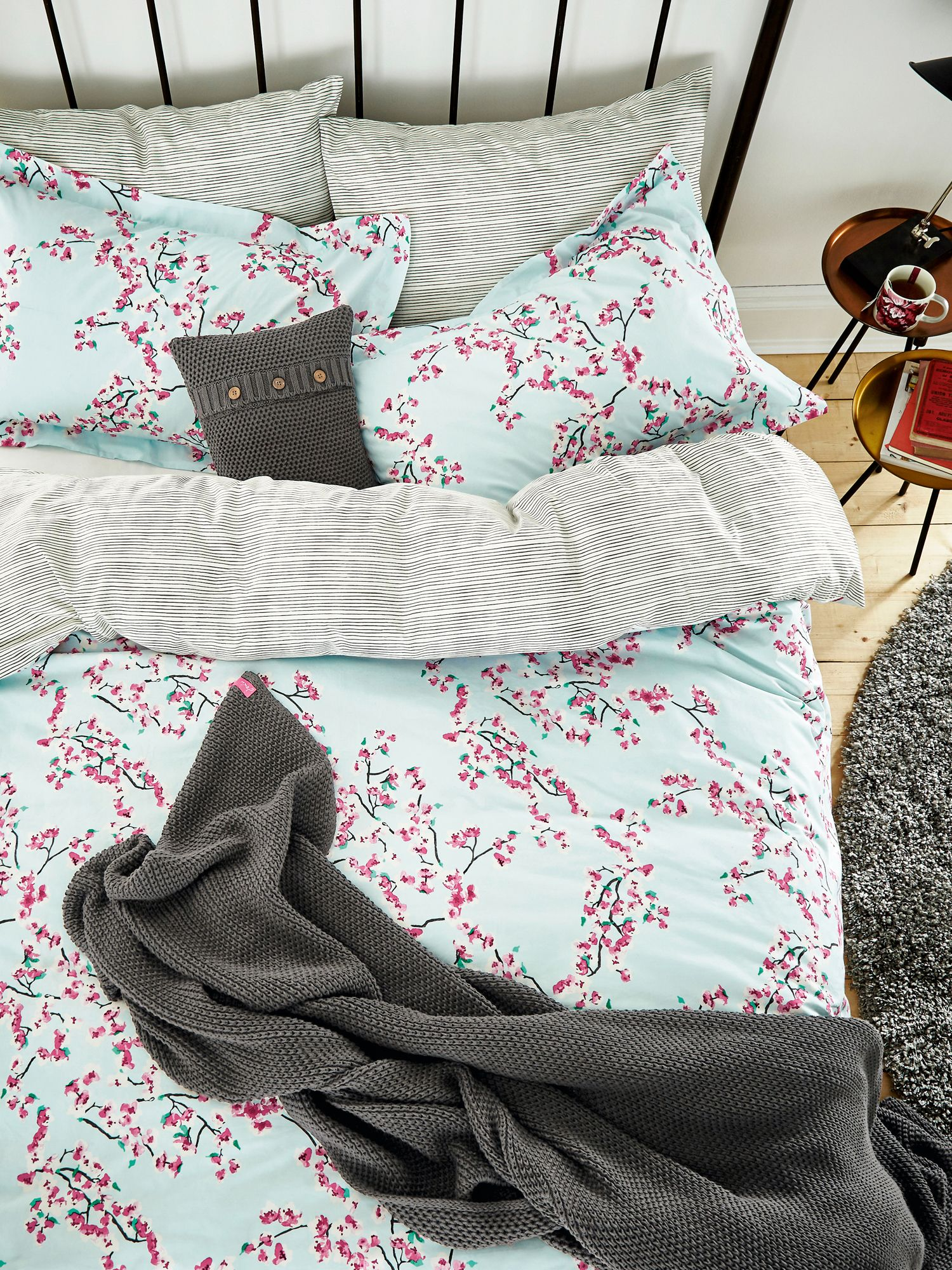 Image of Joules Blossom floral duvet cover