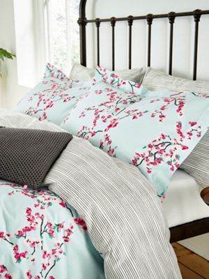 Joules Blossom floral duvet cover