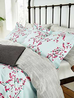 Blossom floral oxford pillowcase