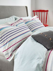 Joules Elizabeth stripe oxford pillowcase