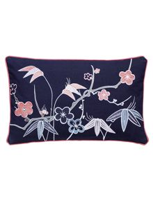 V&A Akimi cushion 30X50cm navy