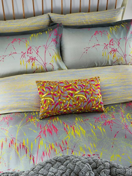 Clarissa Hulse Meadow grass oxford pillowcase