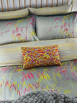 Meadow grass housewife pillowcase