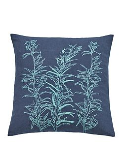 Backing cloth cushion 45X45cm blue