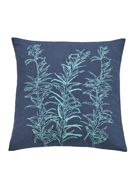 Clarissa Hulse Backing cloth cushion 45X45cm  blue