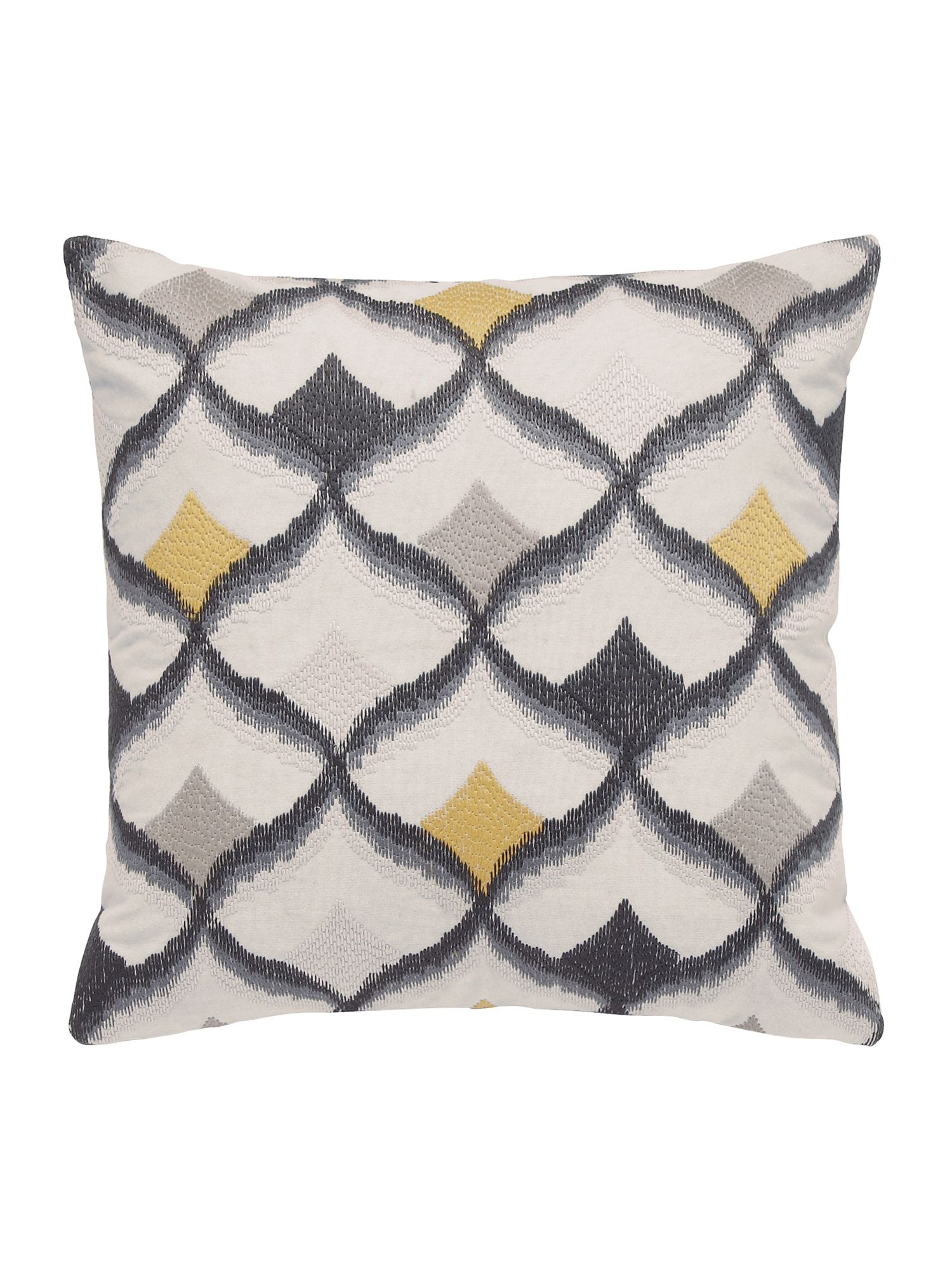 Image of Bedeck 1951 Altana cushion 40X40cm charcoal