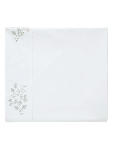 Fable Fern flat sheet double/King